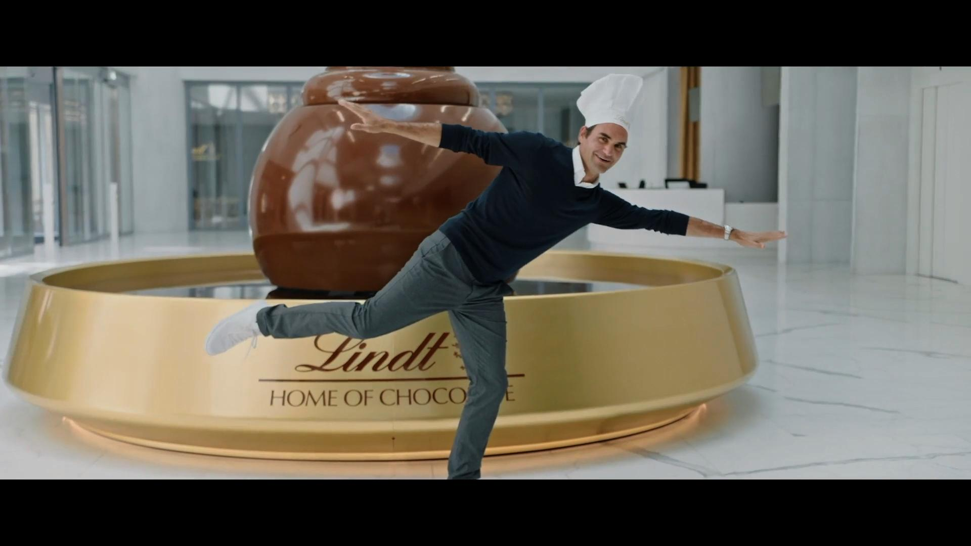 "Lindt ""The Grand Opening with Roger Federer"""